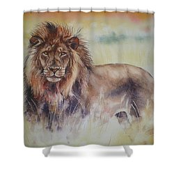 Simba Shower Curtain