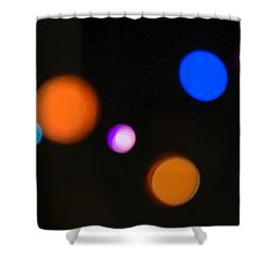 Simple Circles Shower Curtain by Susan Stone