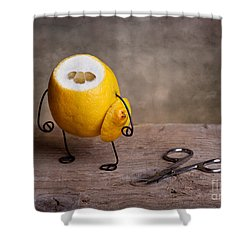 Simple Things 11 Shower Curtain by Nailia Schwarz