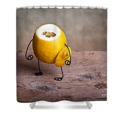 Simple Things 12 Shower Curtain by Nailia Schwarz