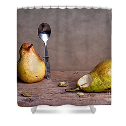 Simple Things 14 Shower Curtain by Nailia Schwarz
