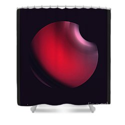 Shower Curtain featuring the digital art Simplicity 12-2 by John Krakora