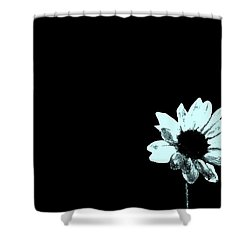 Simplicity  Shower Curtain by Juls Adams