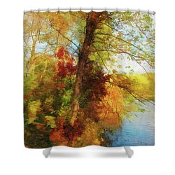 Simply Autumn Shower Curtain