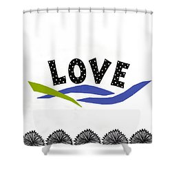 Simply Love Shower Curtain