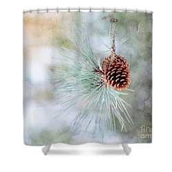 Simply Simple Shower Curtain by Brenda Bostic