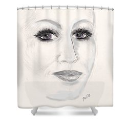 Simply Woman Shower Curtain