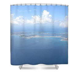 Simpson Bay St. Maarten Shower Curtain