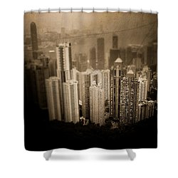 Sin City Shower Curtain by Loriental Photography