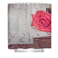 Sing Me A Love Song Shower Curtain