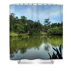 Singapore Botanical Gardens Shower Curtain