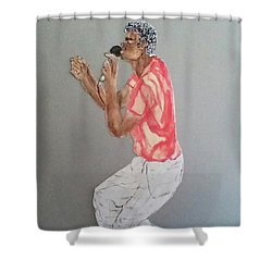 Singer Shower Curtain