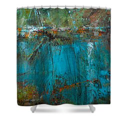 Singin' With Blues Shower Curtain