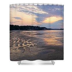 Singing Beach Sandy Beach Manchester By The Sea Ma Sunrise Shower Curtain