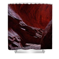 Singing Canyon At Grand Staircase Escalante National Monument In Utah Shower Curtain