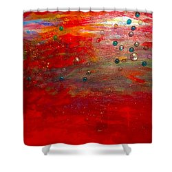 Singing With Passion Shower Curtain
