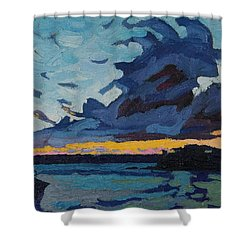 Singleton Sunset Stratocumulus Shower Curtain
