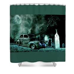 Sinister Shower Curtain
