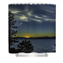 Sinking Sol Shower Curtain