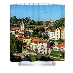 Sintra - The Most Romantic Village Of Portugal Shower Curtain