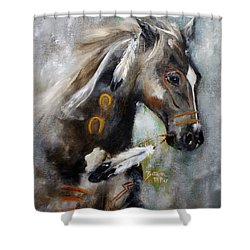 Sioux War Pony Shower Curtain