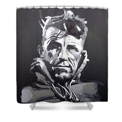 Sir Edmund Hillary Shower Curtain