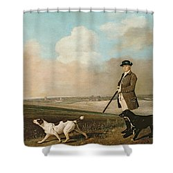 Sir John Nelthorpe Shower Curtain by George Stubbs