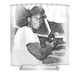 Rod Carew Shower Curtain