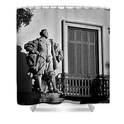 Sir Rubens Morning Shower Curtain