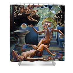 Sirenia Cove Shower Curtain by Patrick Anthony Pierson