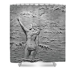 Shower Curtain featuring the photograph Sirens by Kristin Elmquist