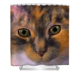 Sissy Up Close Shower Curtain