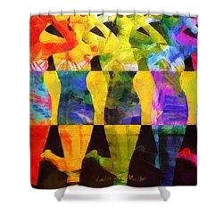 Sistas Shower Curtain