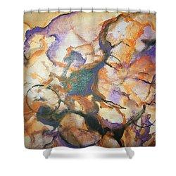 Sistaz Shower Curtain by Raymond Doward