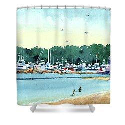 Sister Bay, Door County Shower Curtain