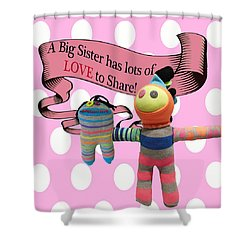 Sister Love Shower Curtain