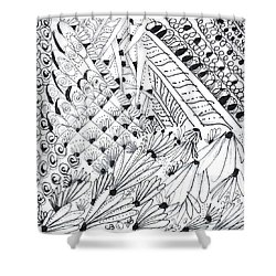 Sister Tangle Shower Curtain