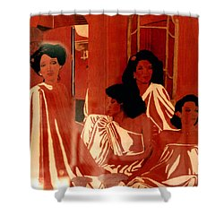 Sisters We Are Family Shower Curtain
