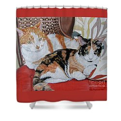 Sisters Shower Curtain