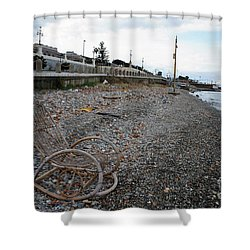 Sit Back And Enjoy The Sea Shower Curtain