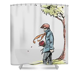 The Site Visitor Shower Curtain