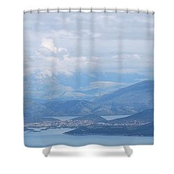 Six Islands  Shower Curtain