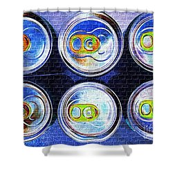 Six Pack Shower Curtain