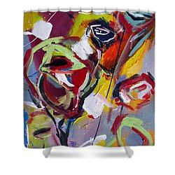 Six Roses Shower Curtain