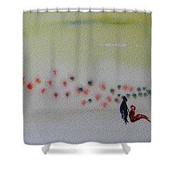 Six Seasons Dance Four Shower Curtain