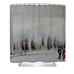 Six Seasons Dance Three Shower Curtain