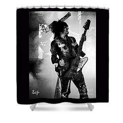 Shower Curtain featuring the photograph Sixx by Traci Cottingham
