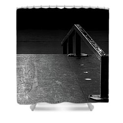 Shower Curtain featuring the photograph Skateboard Ramp II by Richard Rizzo