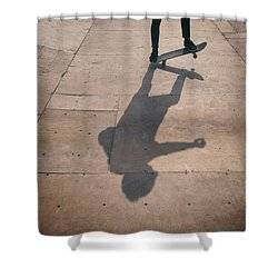Skater Boy 002 Shower Curtain