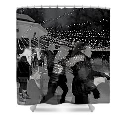 Skaters Shower Curtain